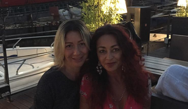 Alessandra Barbiera e Ivana Cardella